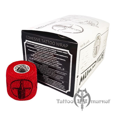Tattoo Wrap Red Mummy Tape