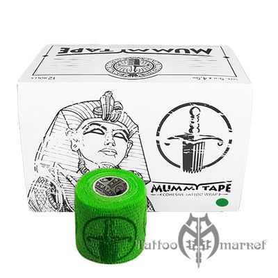 Средства ухода за татуировкой Tattoo Wrap Green Mummy Tape