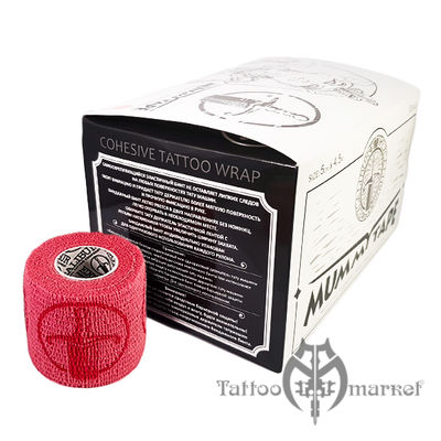 Средства ухода за татуировкой Tattoo Wrap Pink Mummy Tape