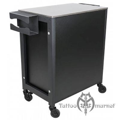 Мобильный стол с 3 ящиками