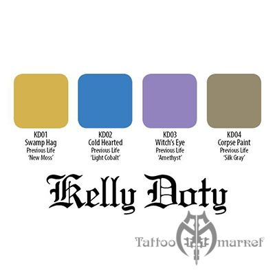 Краска Eternal Kelly Doty Resurrection Set