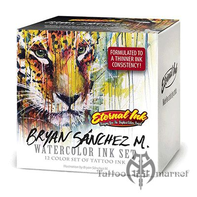 Bryan Sanchez M. Watercolor Ink Set