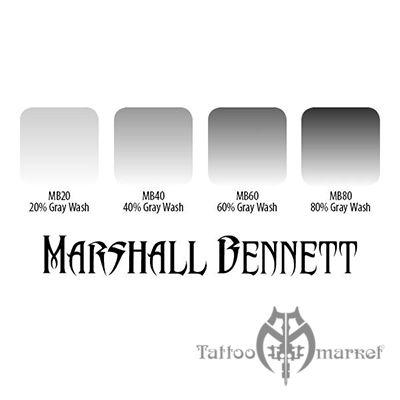 NEW Marshall Bennett Gray Wash Set