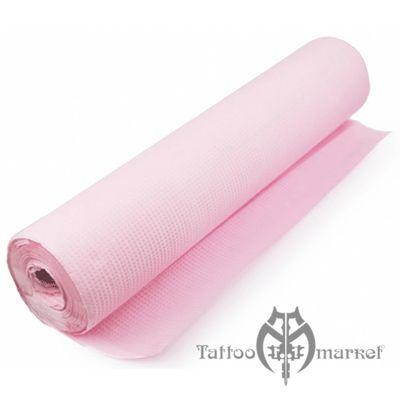Барьерная защита Гигиеническая подстилка на стол розовая 50см х 50м