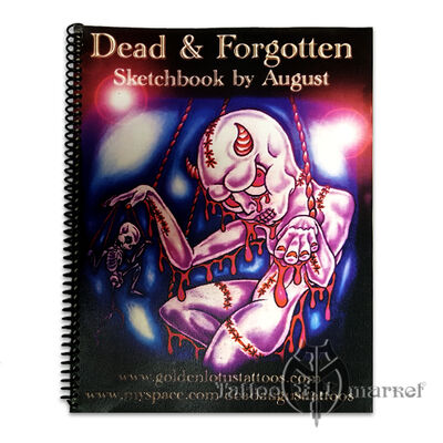 Книги, скетч-буки Dead & Forgotten by August Thompson