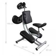 Комфортное кресло с наколенниками De Luxe класса