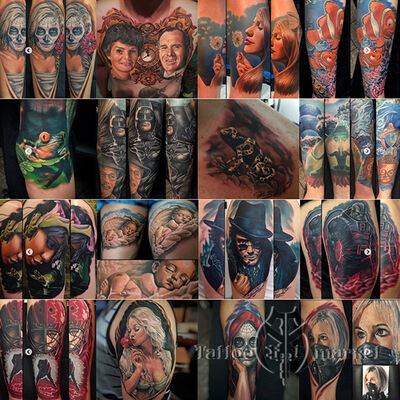 Randy Engelhard's Tattoo by Number Set - 26 color