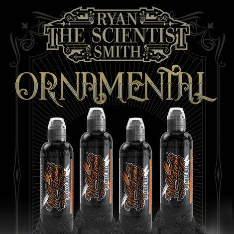 Краска World Famous Tattoo Ink RYAN SMITH - ORNAMENTAL SET - DARK
