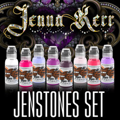 JENNA KERR'S JENSTONES COLOR SET