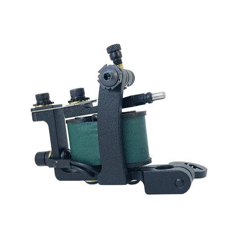 Тату машинка Deuce Machines Mini Dog Black-Dark Green
