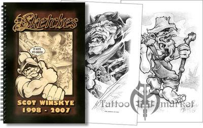 Sketches - by Scot Winskye
