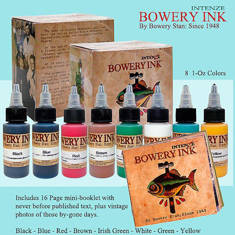 Intenze Bowery Ink by Stanley Moskowitz