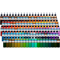 101 Color Tattoo Ink Set - набор 101 цвет
