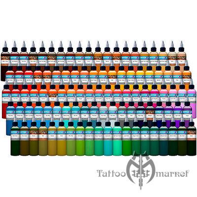 101 Color Tattoo Ink Set - набор 101 цвет