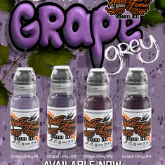 Dima NBK Grape Grey set 4шт