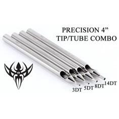 14DT Tattoo Diamond Stainless Steel Long Tip