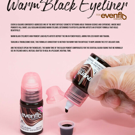 Пигмент Perma Blend Evenflo Warm Black Eyeliner