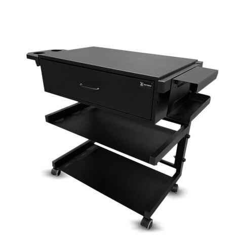 Мебель для тату салона Рабочая станция с ящиком, подстаканником и креплением для перчаток