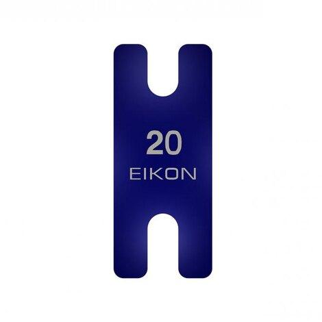 Контакты-пружины для машинок Пружина Eikon Tru-Spring Back 0,020 Blue