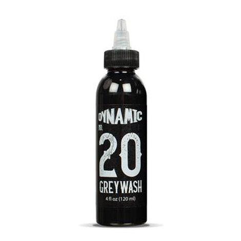 Краска Dynamic Colors Dynamic Greywash Tattoo Ink - 4 Bottle Set