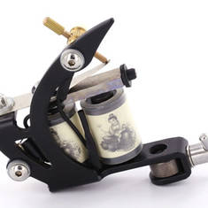 Basic Tattoo Machine with Black Frame