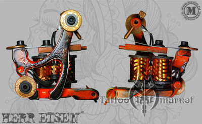 """Custom """"Side Wheeler"""" shader – тату машина для цвета и теней"""