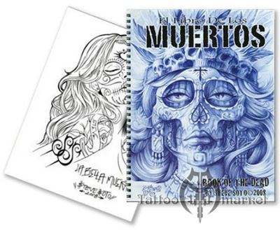 Steve Soto Book of the Dead - Muertos