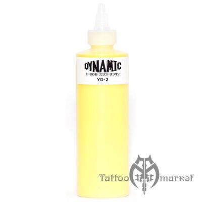 Краска Dynamic Colors Lemon Yellow - Лимонный Желтый