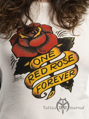 One Red Rose Tee