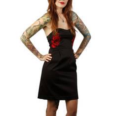 Roses Strapless Dress