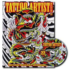 Tattoo Artist Magazine 22 W/DVD