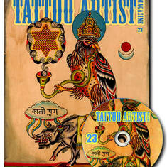 Tattoo Artist Magazine 23 W/DVD