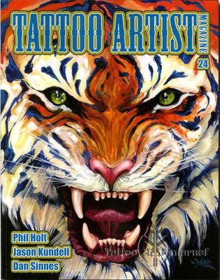 Tattoo Artist Magazine 24