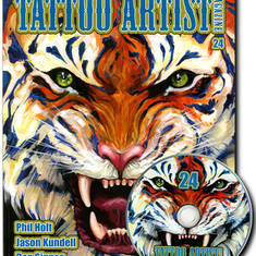 Tattoo Artist Magazine 24 W/DVD