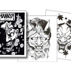 Hannya Masks - by Horimouja