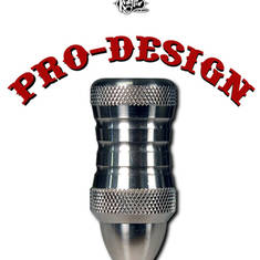 "Pro-Design Stainless Custom 1"" Grip (D)"