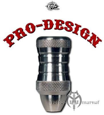 """Pro-Design Stainless Custom 1"""" Grip (D)"""