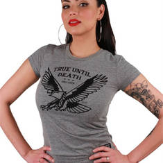 True Eagle Tri-blend Tee - W