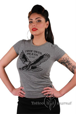 True Eagle Tri-blend Tee - W