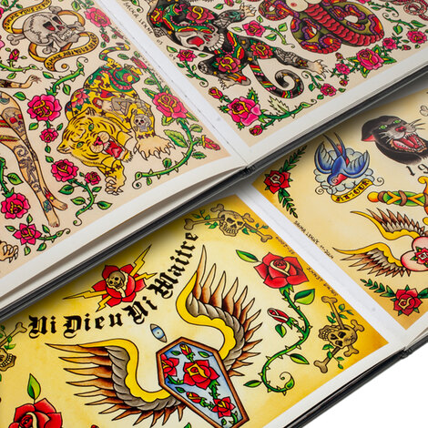 Книги, скетч-буки Sacha Tattoo Flash Book