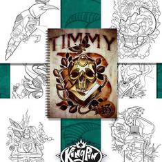 Sketchbook Vol. 2 - by Timmy B.