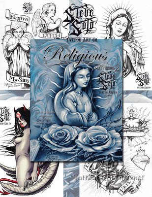 Religious Sketchbook Steve Soto vol.2