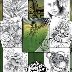 Japanese Style Sketchbook Volume 1 - by UEO