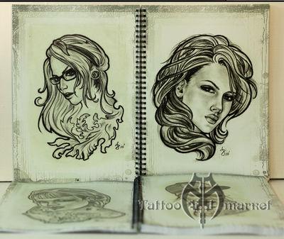 Bukharov Sketchbook