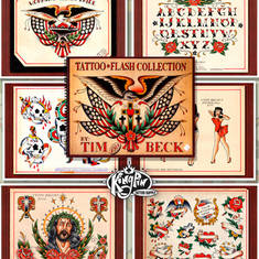 Tattoo Flash Collection by Tim Beck