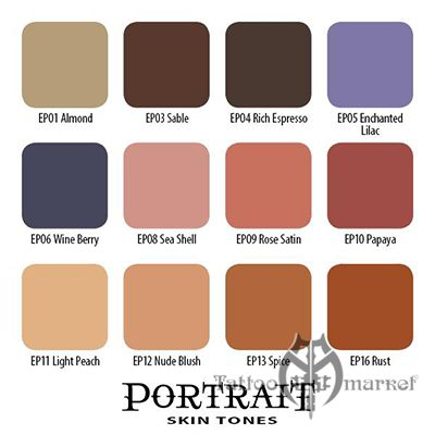 16 Portrait Skin Tone Collection