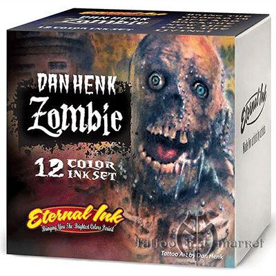 12 Zombie Color Set