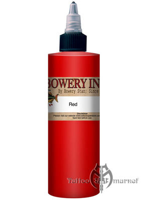 INTENZE Bowery Ink Red