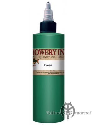 INTENZE Bowery Ink Green