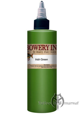 INTENZE Bowery Ink Irish Green